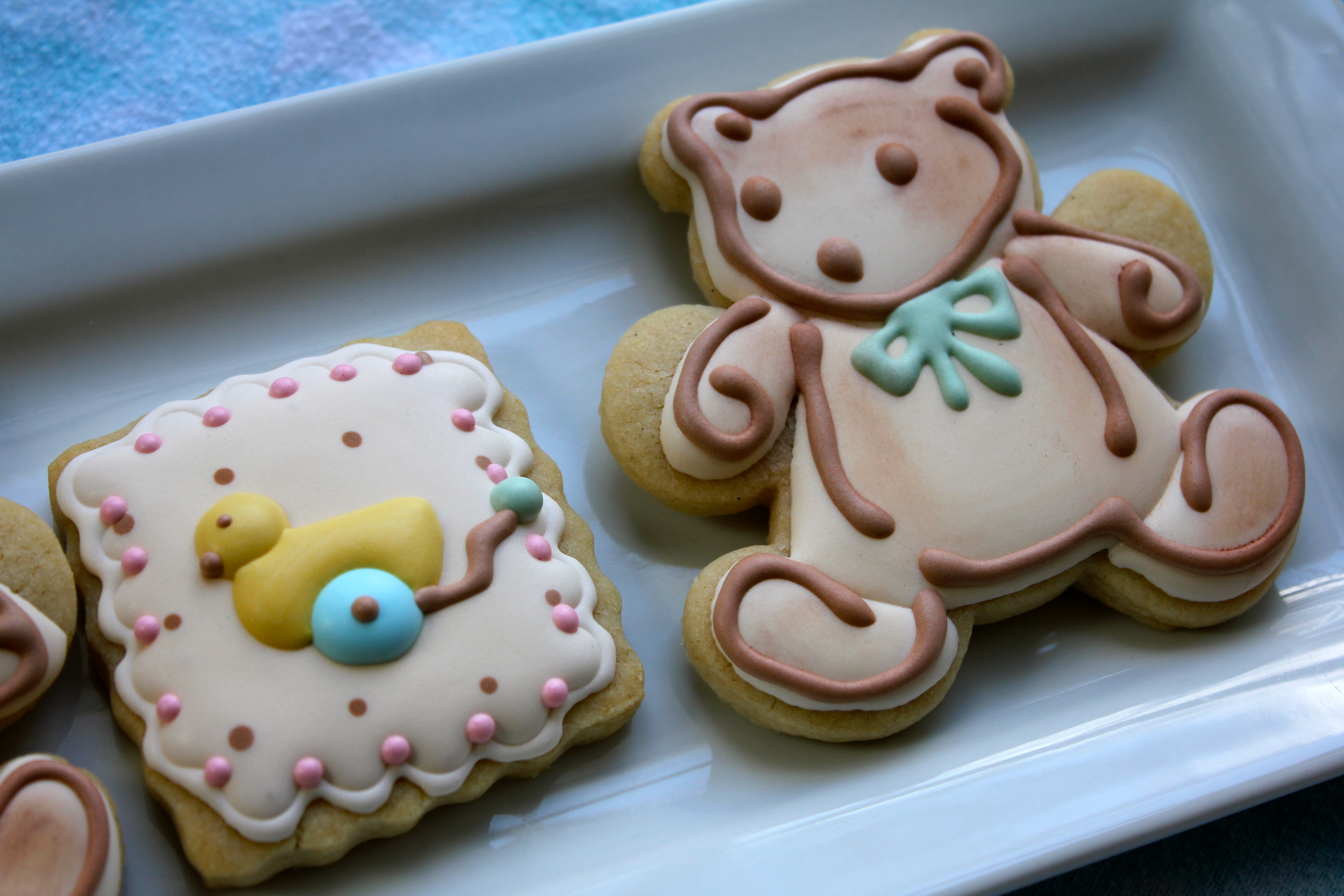 teddy bear cookies paddle attachment
