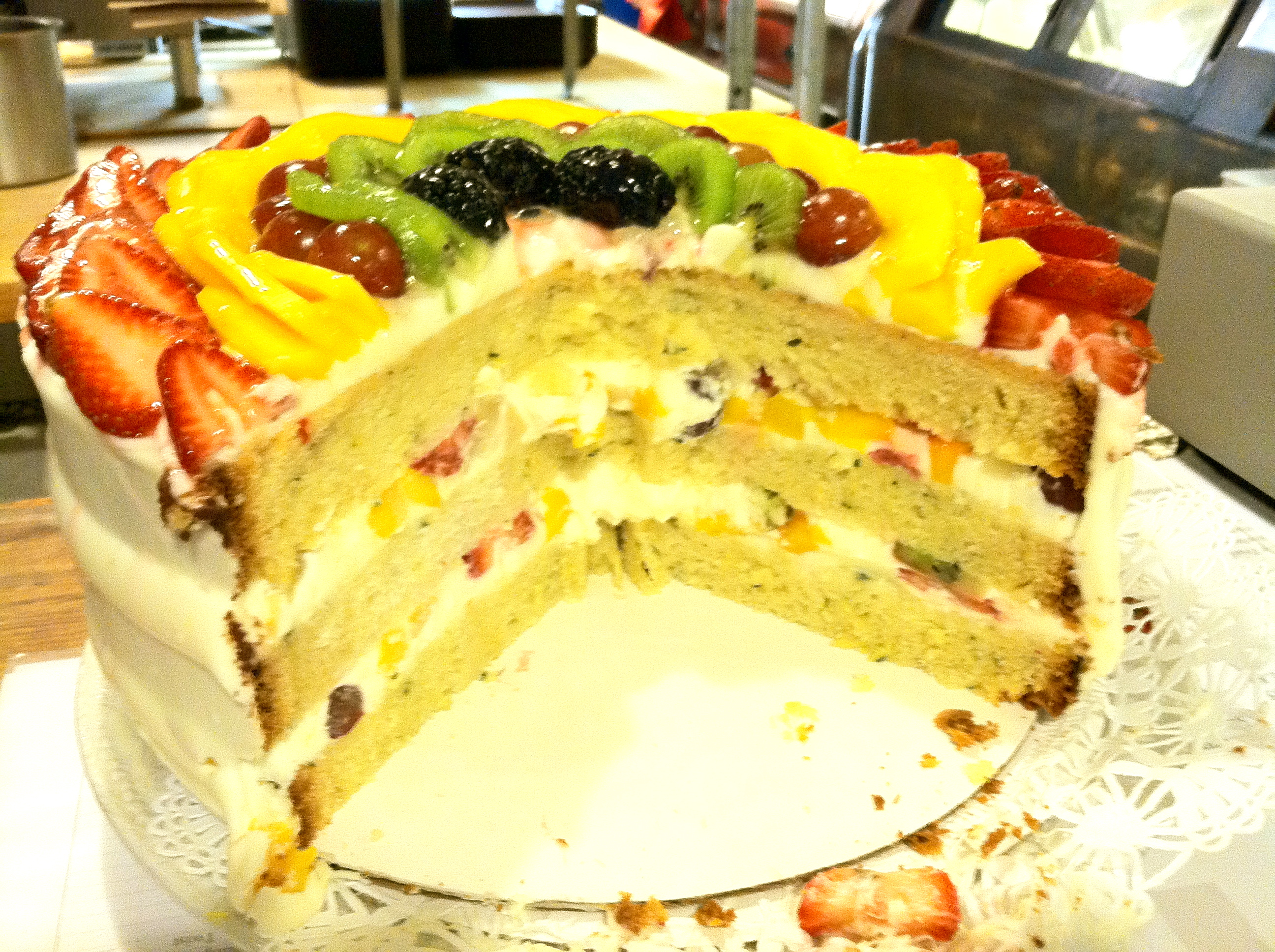The One €� The Only €� Spring Fling Cake!