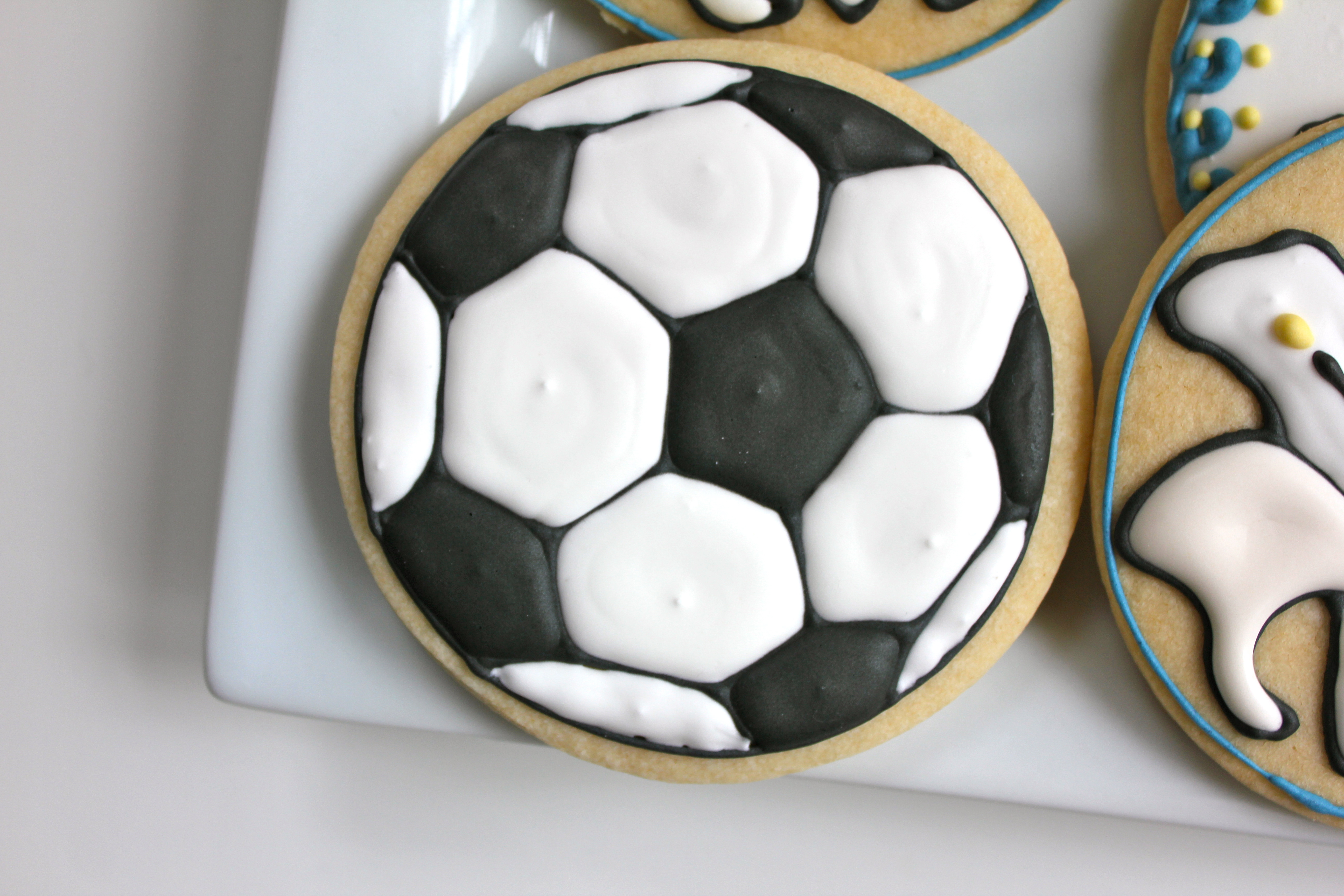 Soccer Ball Cookies Paddle Attachment