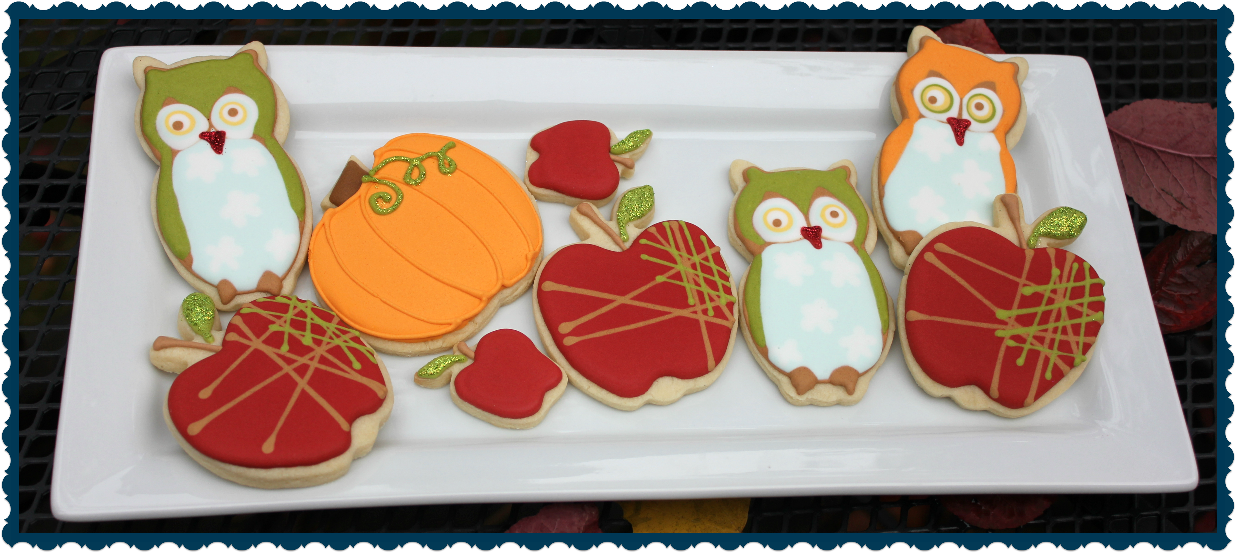 Owl Decorated Cookies Owl Cookies Paddle Attachment