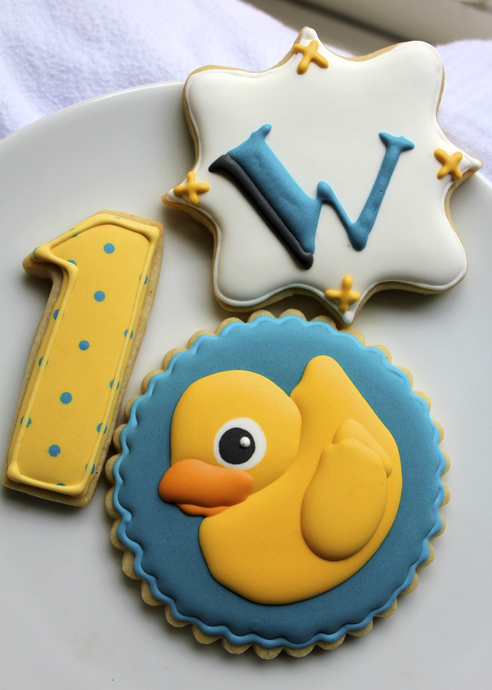 First to review yellow rubber duck click here to cancel reply - For William S Party The Ducky Cookies Took Center Stage Accompanied By Polka Dot Number Ones And A Monogram Cookie With His First Initial