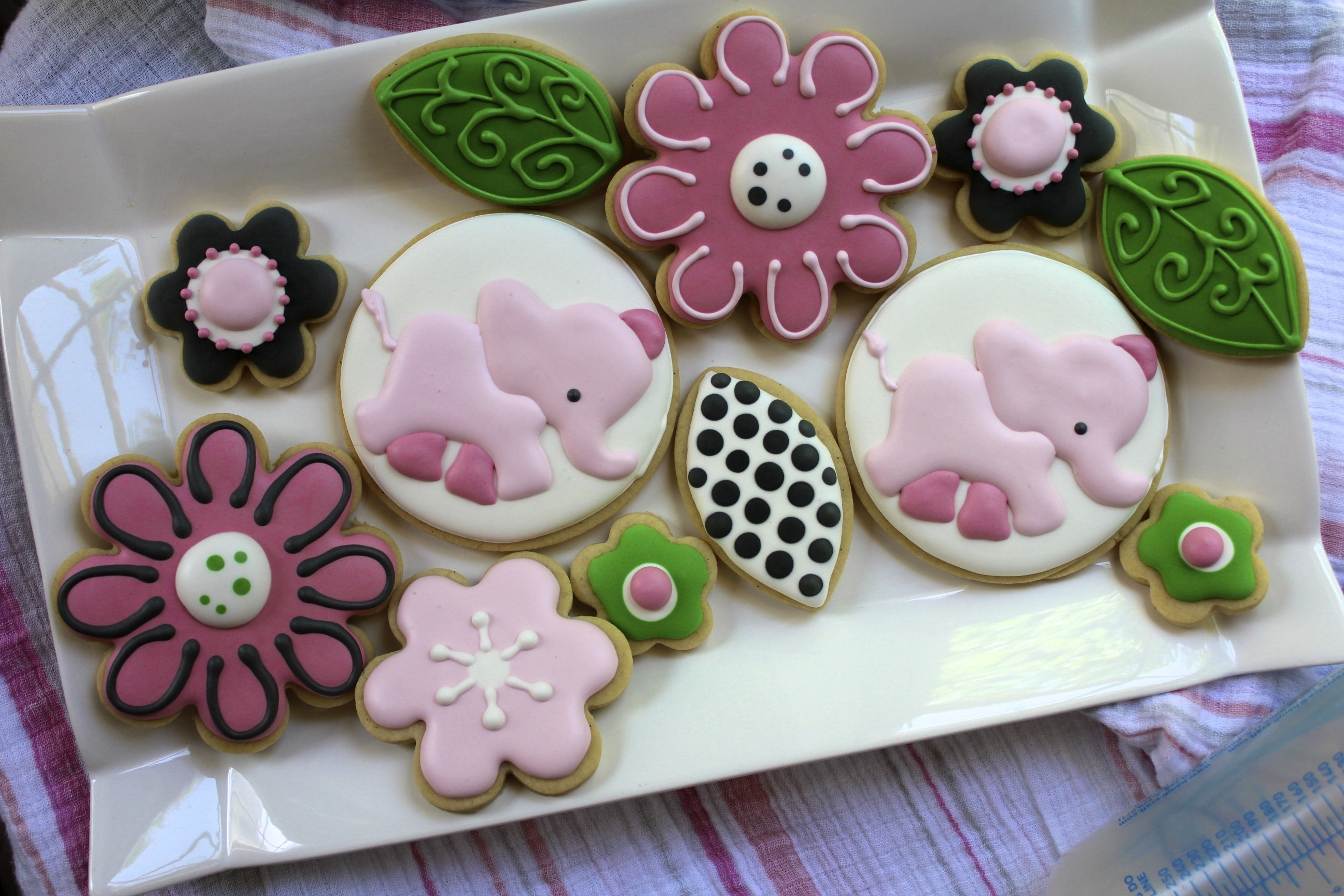 Flower Cookies Paddle Attachment